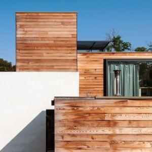 bardage bois - maison Pegasus par Saint-Cricq architecte - Toulouse, France