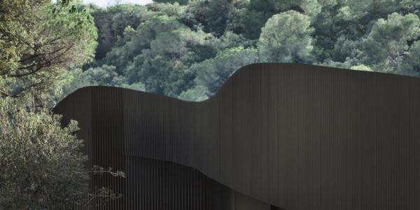 bardage bois - maison exclusive par Mirag Arquitectura i GestiO - Ametlla, Espagne