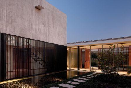 bassin - Kübler House par 57STUDIO - Stgo, Chili