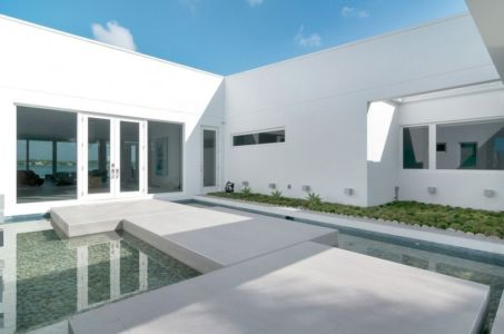bassin entrée - Gross-Flasz Residence par One d+b Miami - Harbor Island, Usa