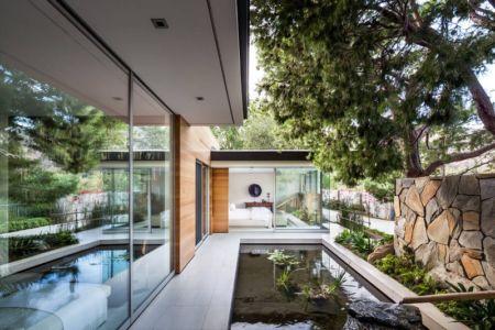 bassin extérieur - Malibu Crest par Studio Bracket - Malibu, Usa