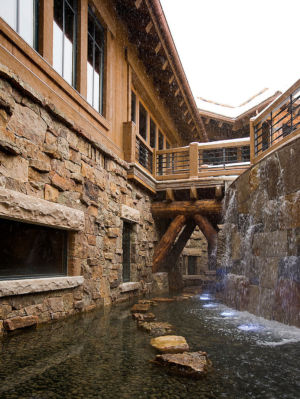 bassin extérieur - Mountaintop residence par VAg architects and planners - Colorado, Usa