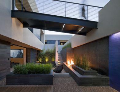 bassin extérieur - Tresarca House par assemblageSTUDIO - Las Vegas, Nevada, Usa