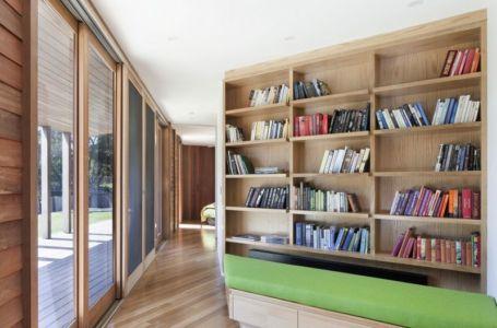 bibliothèque - Aireys House par Byrne Architects -  Aireys Inlet, Australie