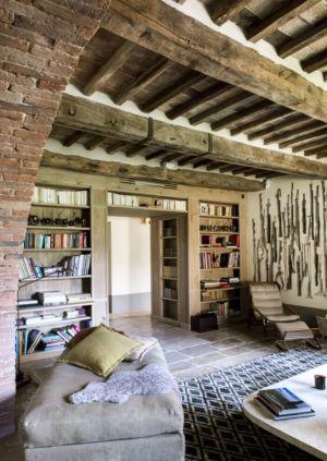 bibliothèque - mediterranean-residence par Elodie Sire - Toscane, Italie
