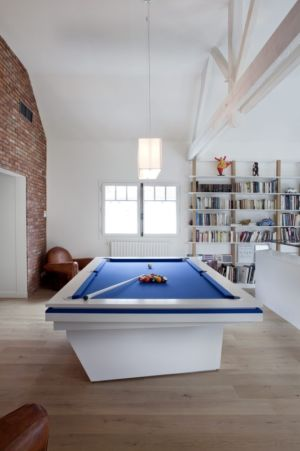 billard - Rénovation Maison V - Olivier Chabaud Architecte - France