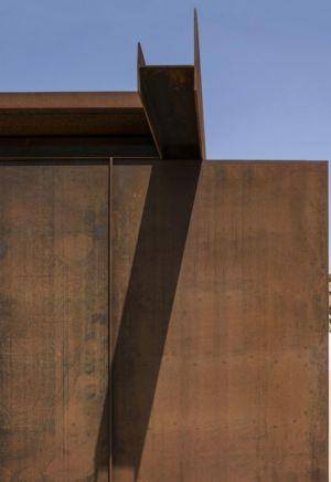 blocs poutre en acier - Sicillian-Farm-Renovation par ACA Amore Campione Architettura - Sicile, Italie
