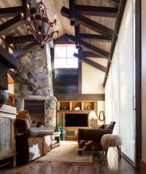 boudoir - chalet de luxe par Walton Architecture - Martis Camp, Usa
