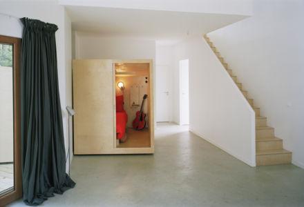 box chambre - maison bois secondaire par RAUM - France - Photos - Audrey Cerdan