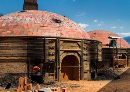 exemple de maison à briques terre cuite