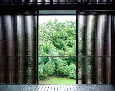 brise soleil - 59BTP House par ONG&ONG - Singapour