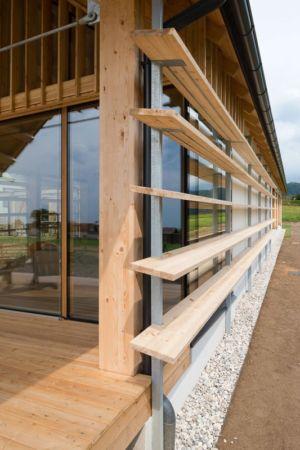 brise-soleil - Maison bois par BIRO GASPERIC - Velesovo, Slovenia