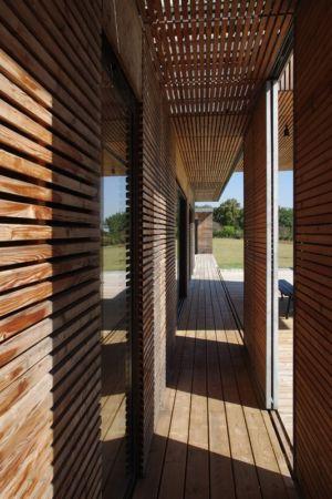 brise-soleil - Maison l'Estelle par François Primault architecte - Moirax, France