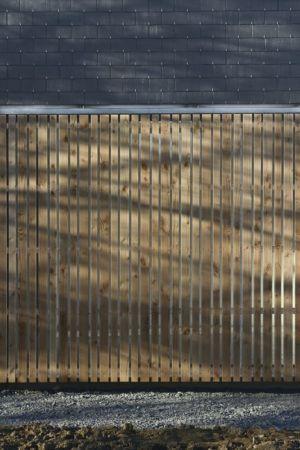 brise soleil - Maison L. ossature bois par Atelier 56S - France - Photo Jeremías Gonzalez
