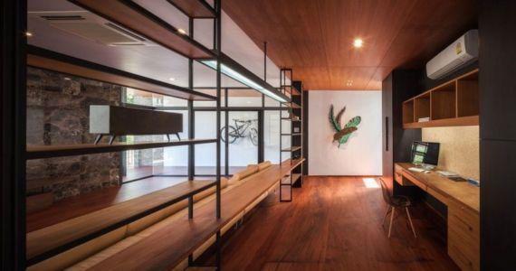 bureau - Bridge-House par Junsekino Architects And Design - Bangkok, Thaïlande