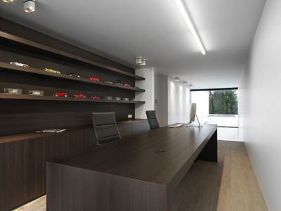 bureau - HS Residence par Cubyc Architects - Bruges, Belgique