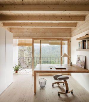 bureau - House LLP par Alventosa Morell Arquitectes - Collserola, Espagne