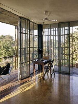 bureau - Riparian-House - Architecture Brio - Karjat, Inde