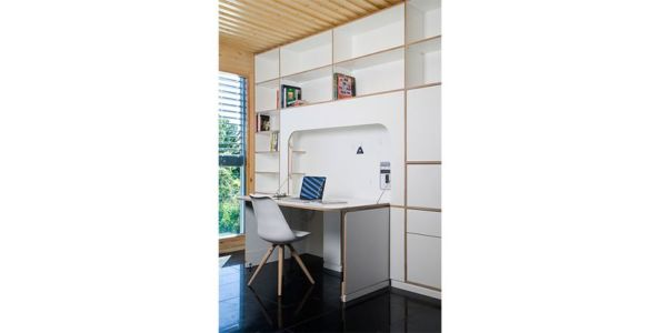 bureau - Spaceship Home par Noem Spaceship - Madrid, Espagne