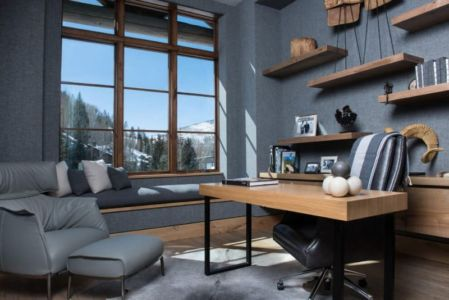 bureau - Vail-Ski-Haus par Read Design Group - Vail, USA