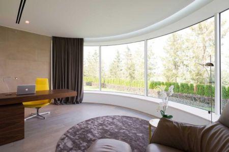 bureau - Villa Agalarov par SL Project - près de Moscou, Russie