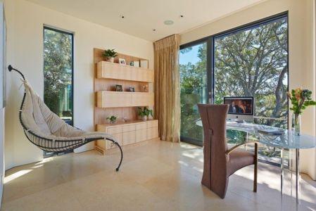 bureau - maison exclusive par Polsky Perlstein Architectes - San Francisco, USA