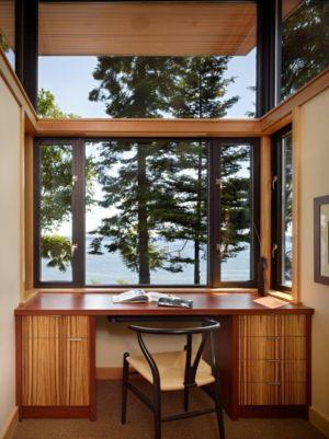 bureau - port-ludlow-house par Finne - Washington, USA