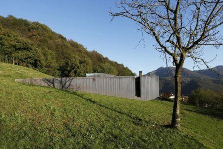 côté - Alps Villa par Camillo Botticini Architect - Brescia, Italie