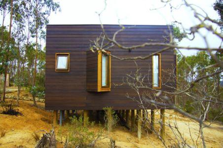 côté - Casa Tunquén par CO2 Arquitectos - Vaparaiso, Chili