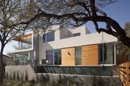 côté - City View Residence par Dick Clark Architecture - Austin, Usa