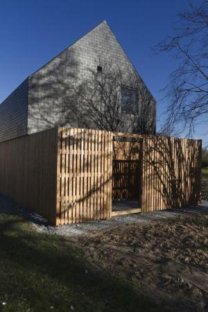 côté - Maison ossature bois par Atelier 56S - France - Photo Jeremías Gonzalez