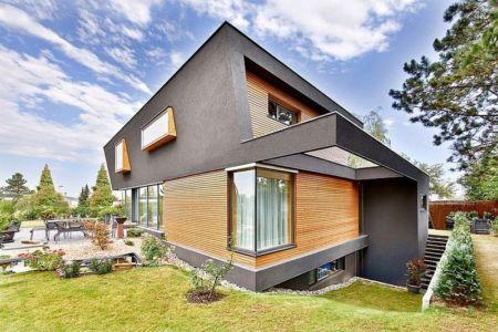 côté jardin et sous-sol - House W par Studio Prototype - Duiven, Pays-Bas