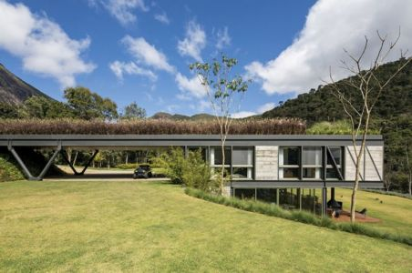 côté maison - Résidense JG by MPG-Arquitectura, Rio de Janeiro, Brésil