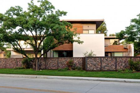 côté rue - Underwood House par StudioMET - Houston, Usa