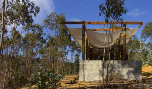 côté terrasse - Casa Tunquén par CO2 Arquitectos - Vaparaiso, Chili