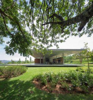 côté terrasse - Redux House par Studio mk27 - Brésil