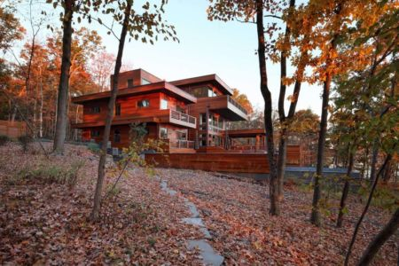 côté terrasse - RiverBanks par Foz Design - Saugerties, Usa