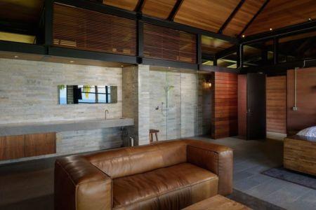 canapé chambre- Kapalua-Home par Olson Kundig Kaprzycki Designs - Hawaï, USA