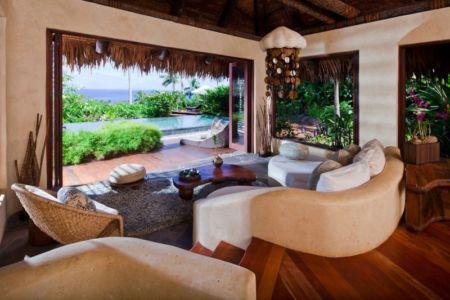 canapé chambre à coucher - Laucana Island - Suva, îles Fidji