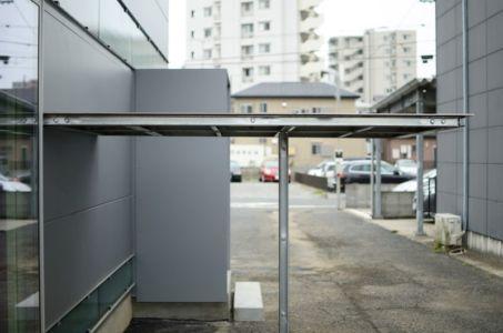 canaux préfabriqués - Boundary House par Niji Architects - Tokyo, Japon