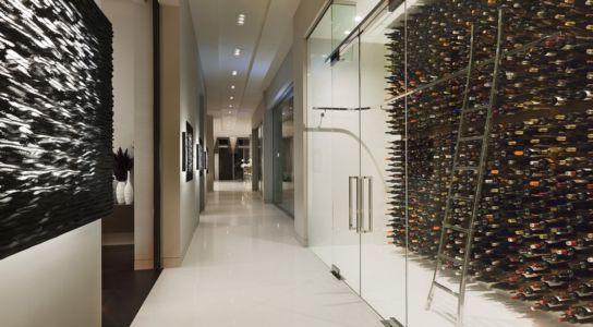 cave à vin - Sarbonne par McClean Design - Los Angeles, Usa