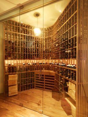 cave à vins - Chatauqua Residence par Studio William Hefner - Californie, Usa