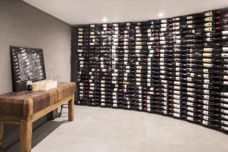 cave à vins - Hampton Residence par Finnis Architects - Melbourne, Australie