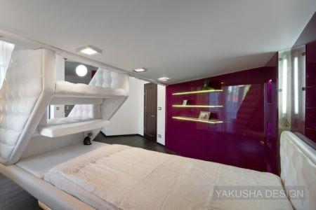 chambre 1 - House «Ecominimalizm». par Yakusha Design - Dnipropetrovsk, Ukraine