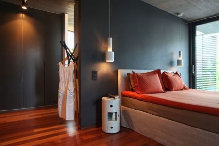 chambre - A&A-House par WoArchitects - Athènes, Grèce