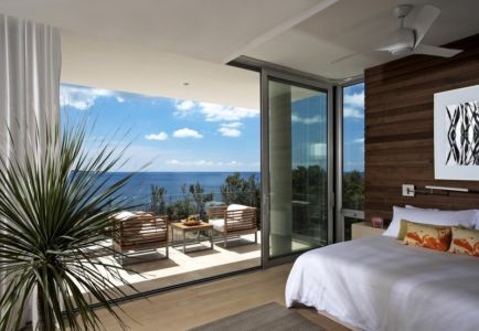 chambre - Ani Villas par Lee H. Skolnick Architecture - Anguilla