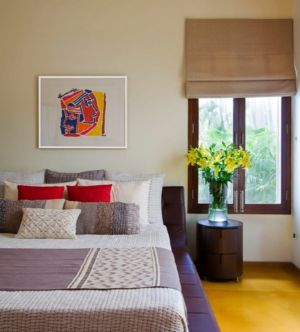 chambre - Bhuwalka House par Khosla Associates - Bangalore, Inde
