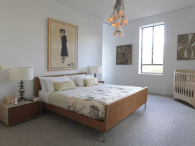 chambre - Bulwarra - maison kate Blanchett - Sydney, Australie