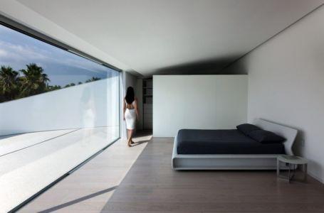 chambre - Casa Balint par Fran Silvestre Arquitectos - Valence, Espagne