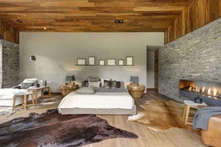 chambre - Casa MM par Elías Rizo Arquitectos - Mexique